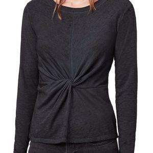 AllSaints Jess Twist Cotton Blend Top Size S ($70)